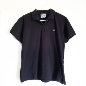 Lilly Pulitzer Black Polo